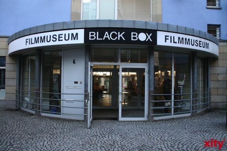 Black Box erinnert an amerikanischen Kultautor William S. Burroughs (xity-Foto: M. Völker)