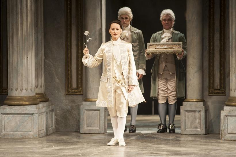 """""""Der Rosenkavalier"""" mit Camilla Nylund als Feldmarschallin (Foto: Matthias Jung)"""