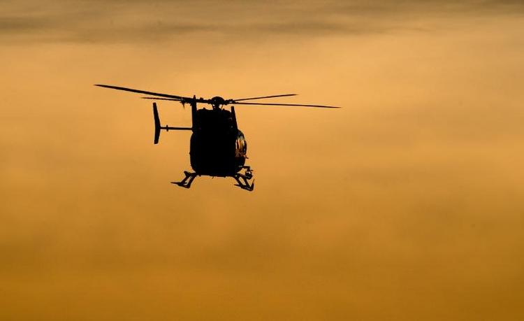 Drei Tote bei Hubschrauberabsturz über der Ostsee (© 2014 AFP)