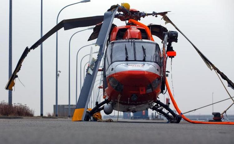 Drei Tote bei Hubschrauberabsturz in der Ostsee (© 2014 AFP)
