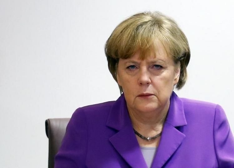 Merkel wirft Russland Verstoß gegen das Völkerrecht vor (© 2014 AFP)