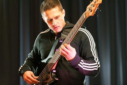 Goran Vujic beim Blue Rosen-Monday (Foto: Blue Note)