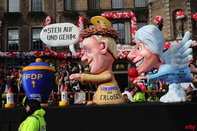 Christian Lindner versucht, gestärkt mit Marie-Agnes Strack-Zimmermann, die FDP zu retten (xity-Foto: D. Creutz)