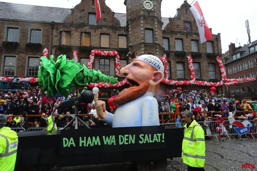 Auch die Salafisten bekamen ihr Fett weg (xity-Foto: D. Creutz)