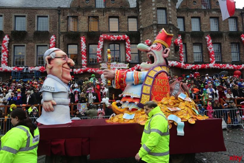 """Die """"Protz-Kirche"""" hat Angst vor dem neuen Papst Franziskus (xity-Foto: D. Creutz)"""