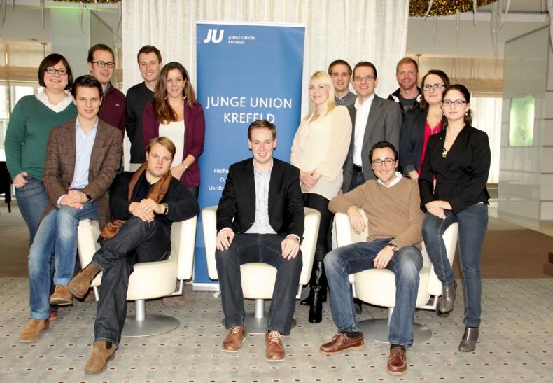 JU Krefeld startet ins Wahljahr 2014 (Foto: Jungen Union Krefeld)