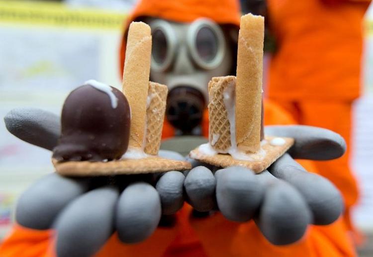 Gabriel erwartet keine Renaissance der Atomenergie (© 2014 AFP)