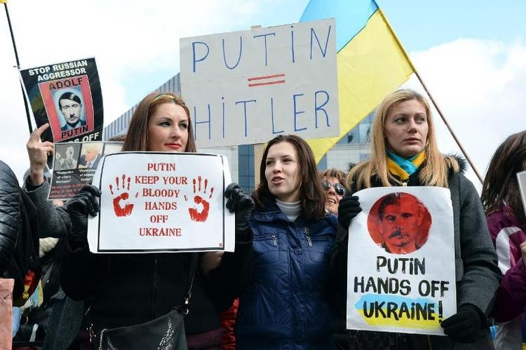 Strafmaßnahmen gegen Russland stoßen auf Skepsis (© 2014 AFP)