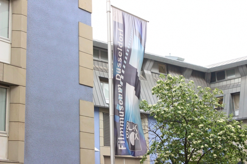 """15. Ausgabe der Reihe """"Architektur und Film"""" in der Black Box des Filmmuseums Düsseldorf (xity-Foto: D. Postert)"""