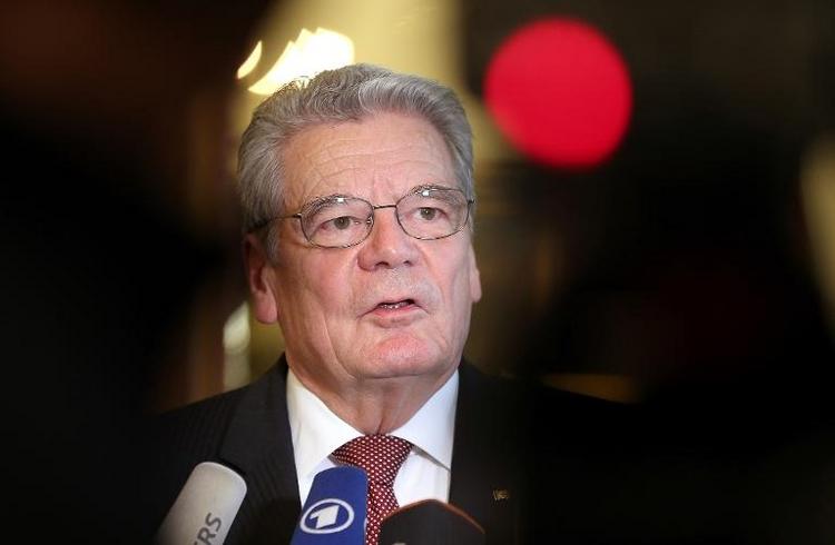Gauck reist zu Staatsbesuch in Griechenland (© 2014 AFP)