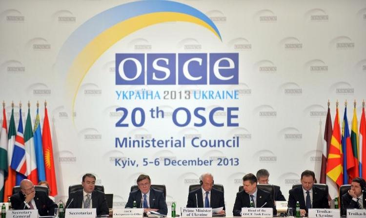 Bundeswehr schickt zwei OSZE-Beobachter in Ukraine (© 2014 AFP)
