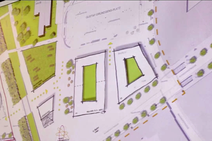 Stadt stellt Ideen für Baufeld 4 vor (xity-Foto: D. Postert)