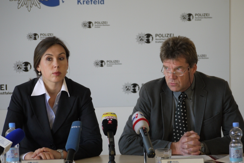 Toter Säugling in Krefelder Südpark aufgefunden. (xity-Foto: E. Aslanidou)
