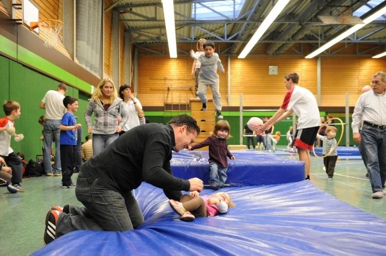 """Großer Spaß für die Kleinen - das ist bei der Aktion für Krefelder Familien """"Mama, Papa und ich"""" garantiert. (Foto: Stadt Krefeld)"""