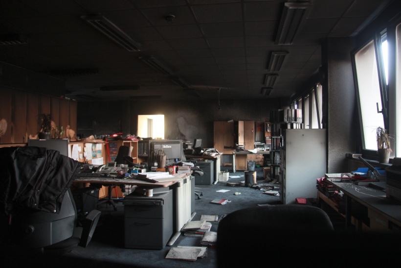 Der Schock bei den Mitarbeiterinnen und Mitarbeitern sitzt tief (xity-Foto: P. Basarir)