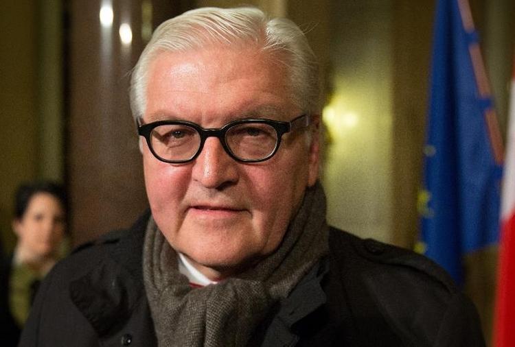 """Steinmeier warnt Moskau vor """"Annexion"""" der Krim (© 2014 AFP)"""