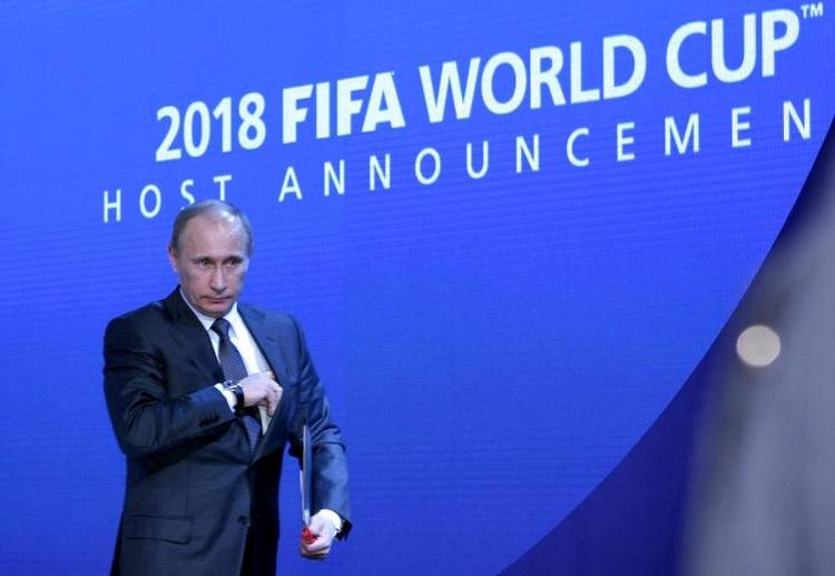 Unionspolitiker: Über Fußball-WM in Russland nachdenken (© 2014 AFP)