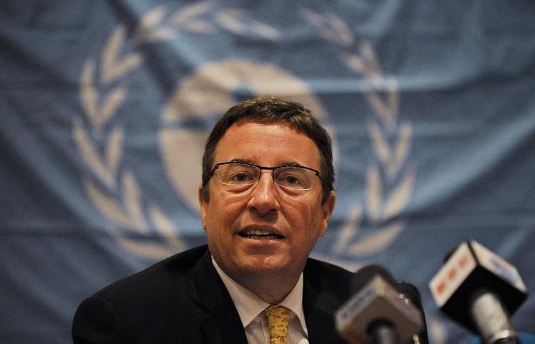 Steiner weitere zwei Jahre Chef des UN-Umweltprogramms (© 2014 AFP)