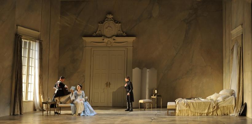 """""""Le nozze di Figaro"""" mit Bo Skovhus (Foto: Hans Jörg Michel)"""
