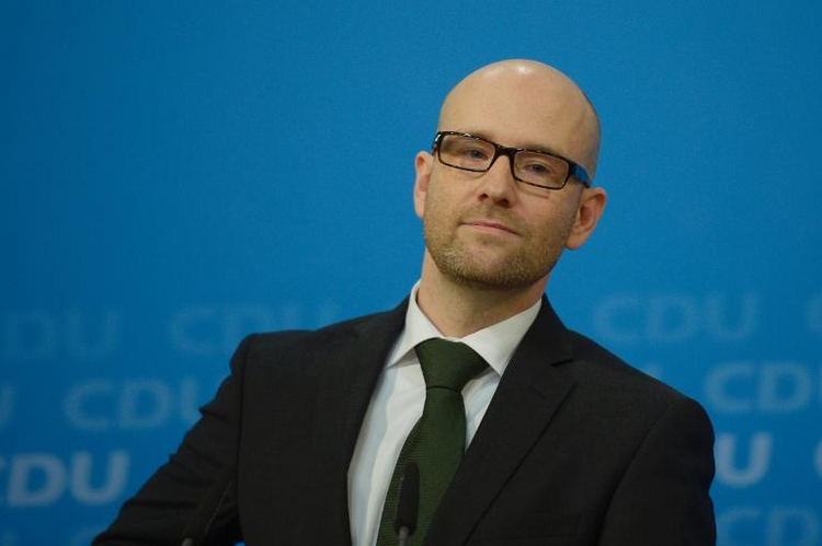 "CDU-Generalsekretär Tauber ist ""Star Wars""-Fan (© 2014 AFP)"