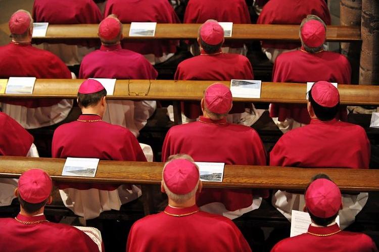 Vollversammlung der deutschen Bischöfe in Münster (© 2014 AFP)