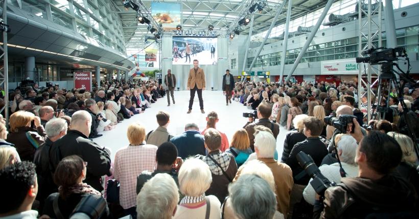 """Düsseldorf Airport sucht """"Models für einen Tag"""" (Foto: Düsseldorf Airport)"""