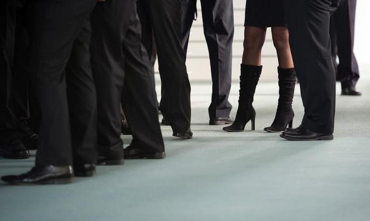 Wenige Frauen beim Bund in Führungsposition (© 2014 AFP)