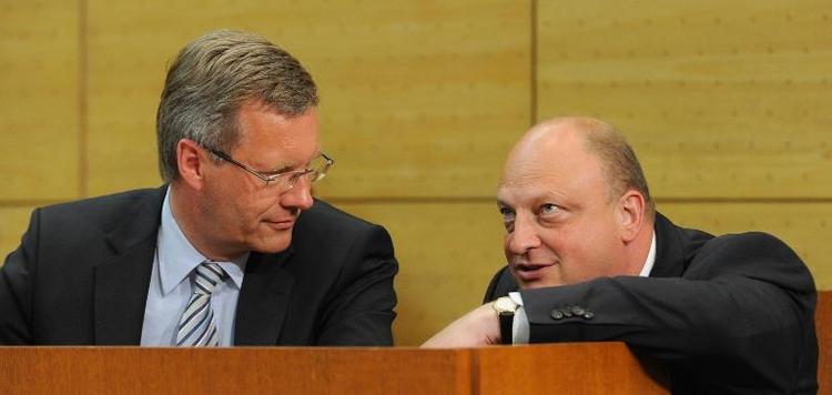 Prozess gegen Glaeseker könnte eingestellt werden (© 2014 AFP)