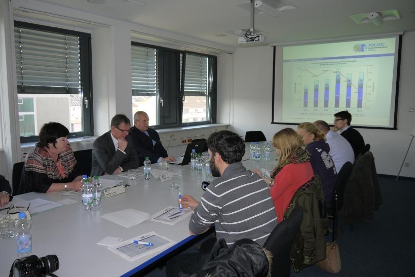 Weniger Wohnungseinbrüche und eine höhere Aufklärungsquote das ist die positive Bilanz der Polizei Krefeld. (xity-Foto: E. Aslanidou)
