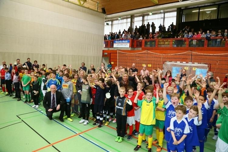 Der Sparda-Bank-Cup 2014 sorgt bei Krefelder Schüler für große Begeisterung. (Foto: Stadt Krefeld)