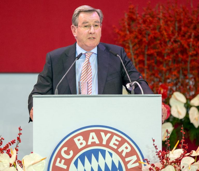 Vize Hopfner wird Nachfolger von Hoeneß als Bayern-Boss (© 2014 AFP)