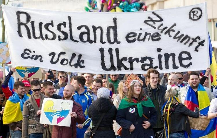 Mehrheit der Deutschen für milden Umgang mit Russland (© 2014 AFP)