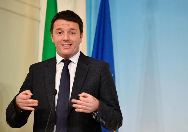Deutsch-italienische Regierungskonsultationen in Berlin (© 2014 AFP)
