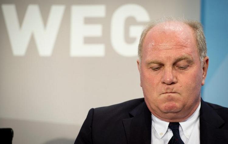 Urteil gegen Uli Hoeneß wird rechtskräftig (© 2014 AFP)
