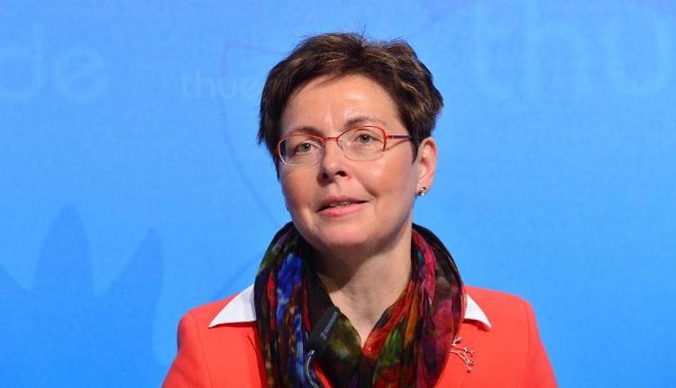 SPD und Linke werben für Rot-Rot in Thüringen  (© 2014 AFP)