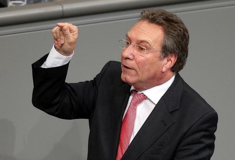 Linken-Fraktionsvize Ernst beklagt Ost-Dominanz (© 2014 AFP)