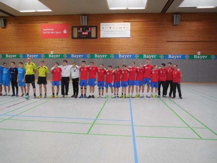 Sieg für die Handball C Jugend mit 27:17 ( Foto: Sportclub Bayer 05 Uerdingen e. V.)