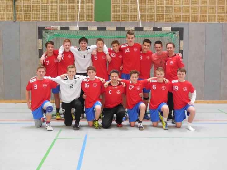 Gelungener Saisonabschluss für die Handball C Jugend des SC Bayer ( Foto: Sportclub Bayer 05 Uerdingen e. V.)