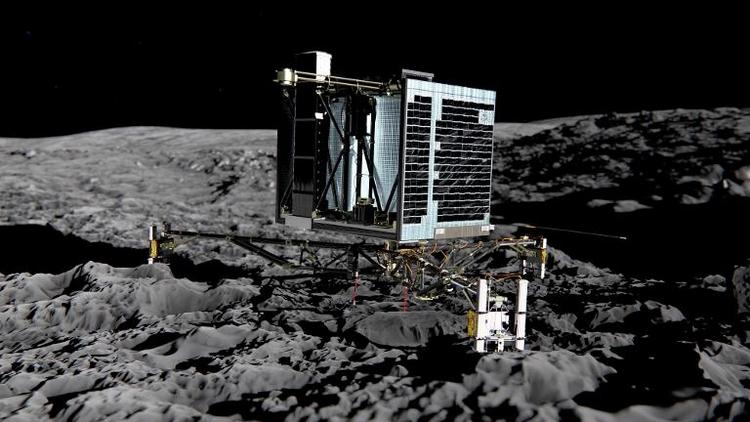 """Kometen-Lander """"Philae"""" wird am 28. März aktiviert (© 2014 AFP)"""