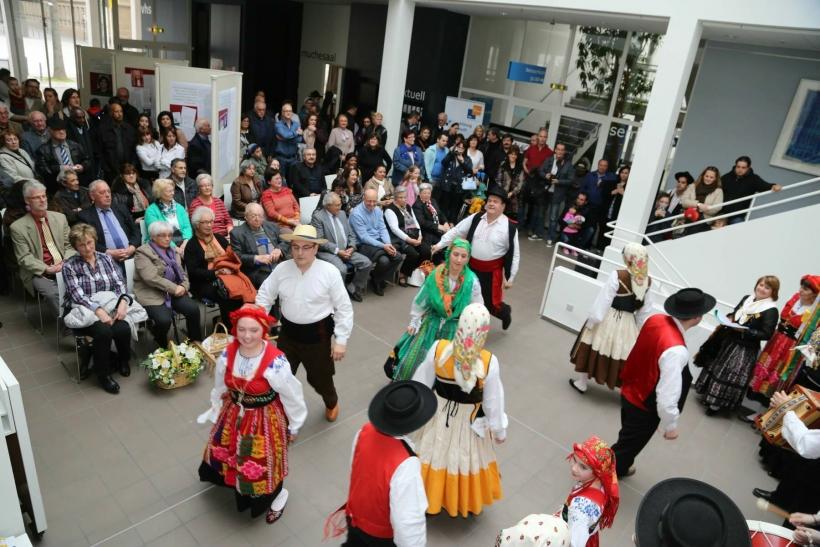 Ausstellung 50 Jahre Anwerbeabkommen mit Portugal (Foto: Stadt Krefeld)