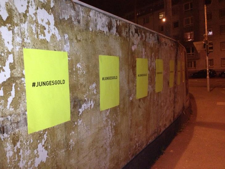 """""""#jungesgold"""" heißt das neue Konzept von """"Düsseldorf ist ARTig"""" (Foto: Düsseldorf ist ARTig)"""
