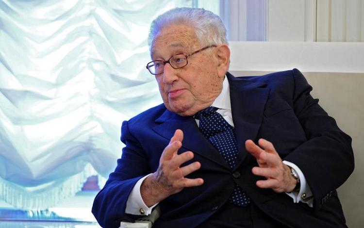 """Widerstand gegen """"Henry Kissinger Professur"""" an Uni Bonn (© 2014 AFP)"""