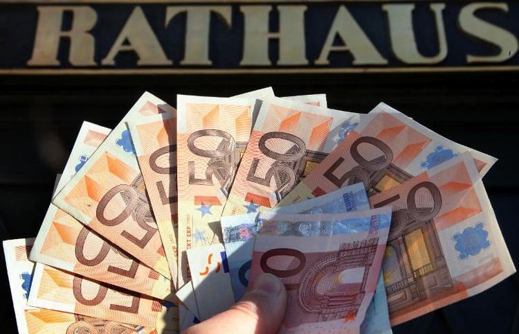 Kommunen erzielten Überschuss von 1,1 Milliarden Euro (© 2014 AFP)