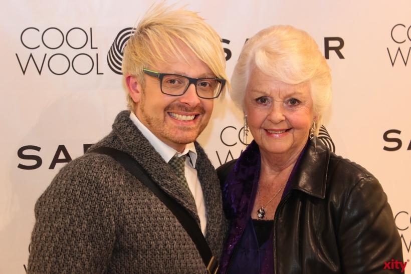 Ross Antony mit seiner Mutter (xity-Foto: H.Müller)