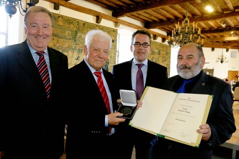 Krefelder haben Rheinlandtaler des Landschaftsverbandes Rheinland erhalten. (Foto: Stadt Krefeld)