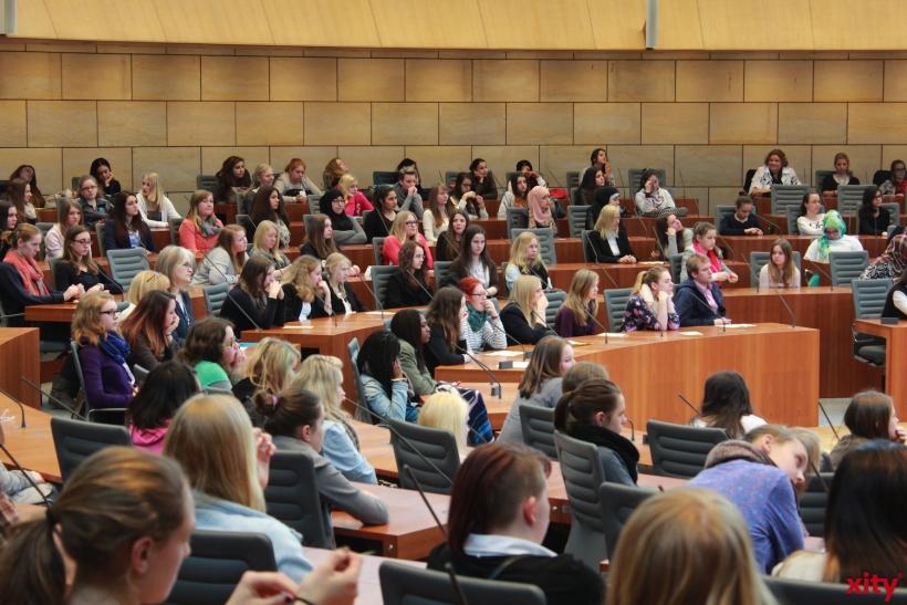 Girl?s Day 2014 im Landtag (xity-Foto: P. Basarir)