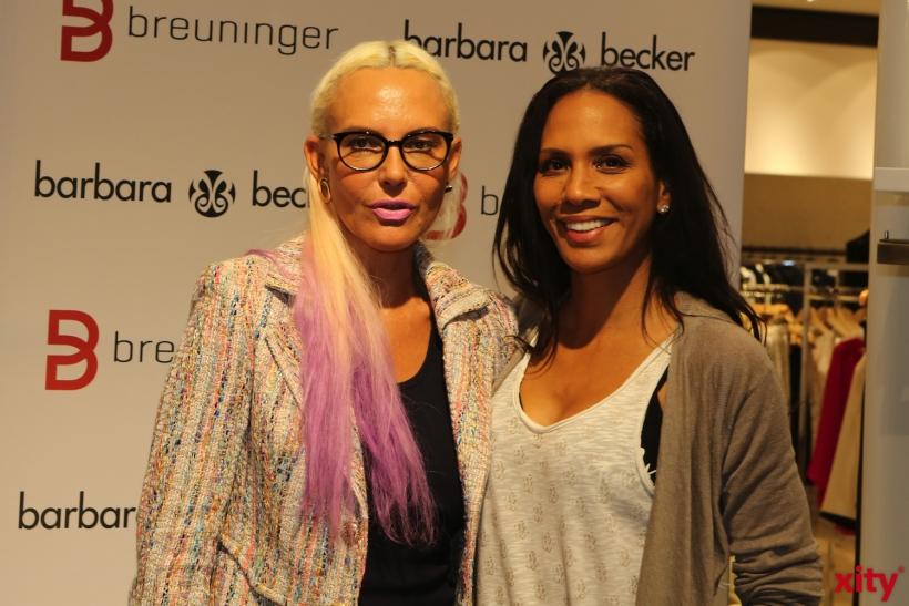 Natascha Ochsenknecht und Barbara Becker (xity-Foto: D. Creutz)