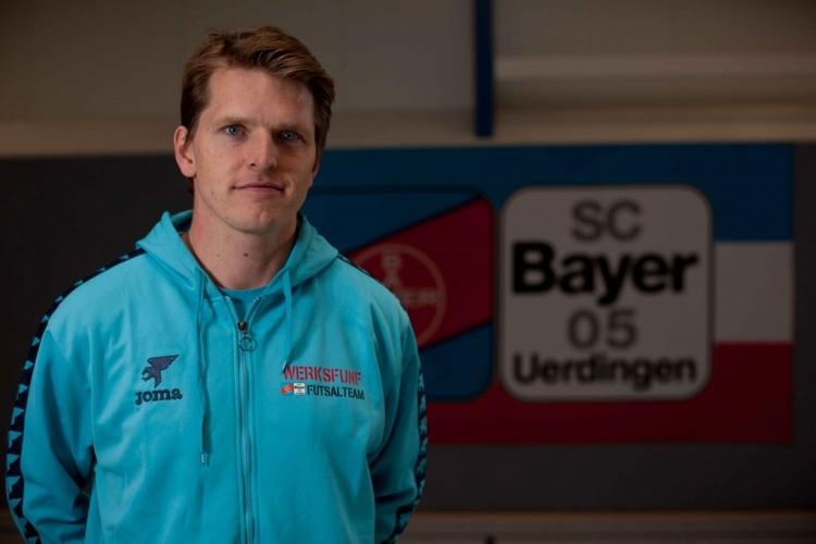Team-Manager Dennis Bessel ist stolz auf die Mannschaft. (Foto: J. Sattler)