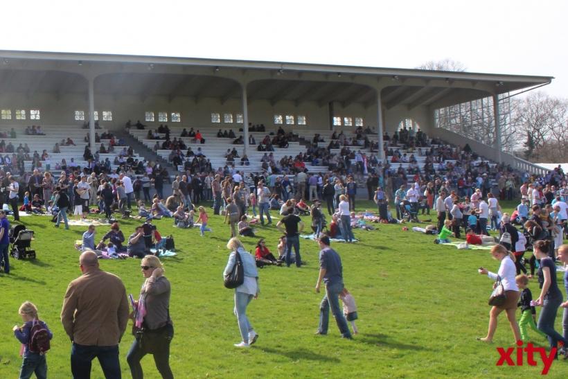 14.500 Fortuna- und Reitsport-Fans in Grafenberg (xity-Foto: H.Müller)
