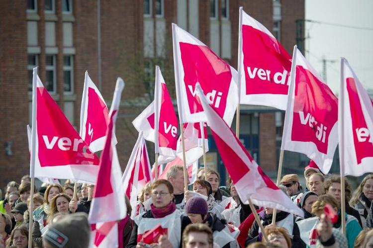 Unions-Kritik an Tarifabschluss für öffentlichen Dienst (© 2014 AFP)